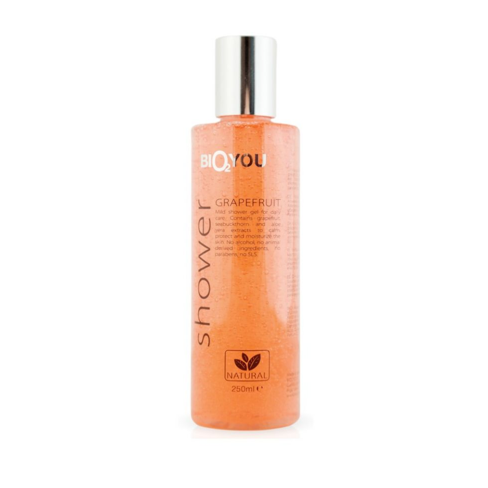 Bio2You Natural Shower Gel with Seabuckthorn & Grapefruit