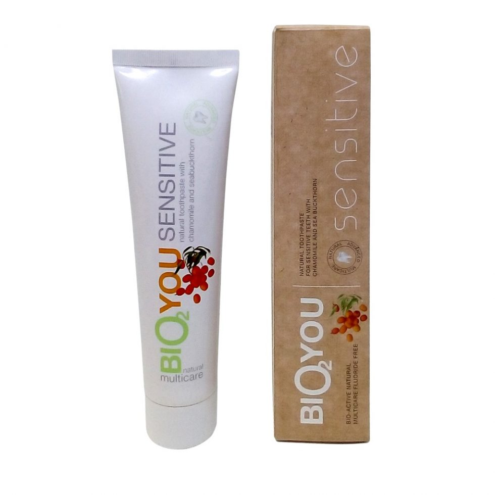Bio2You Natural Toothpaste for Sensitive Teeth