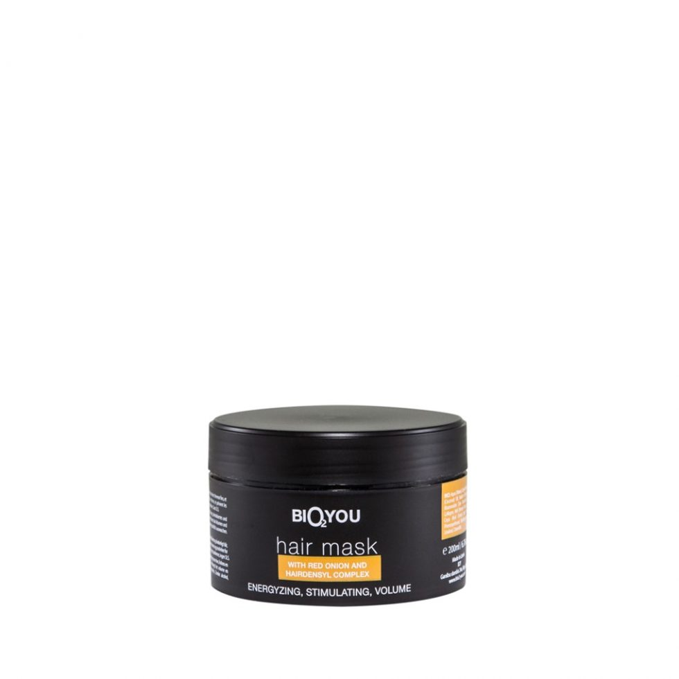 Bio2You Natural hair mask with Hairdensyl complex and Red Onion extract