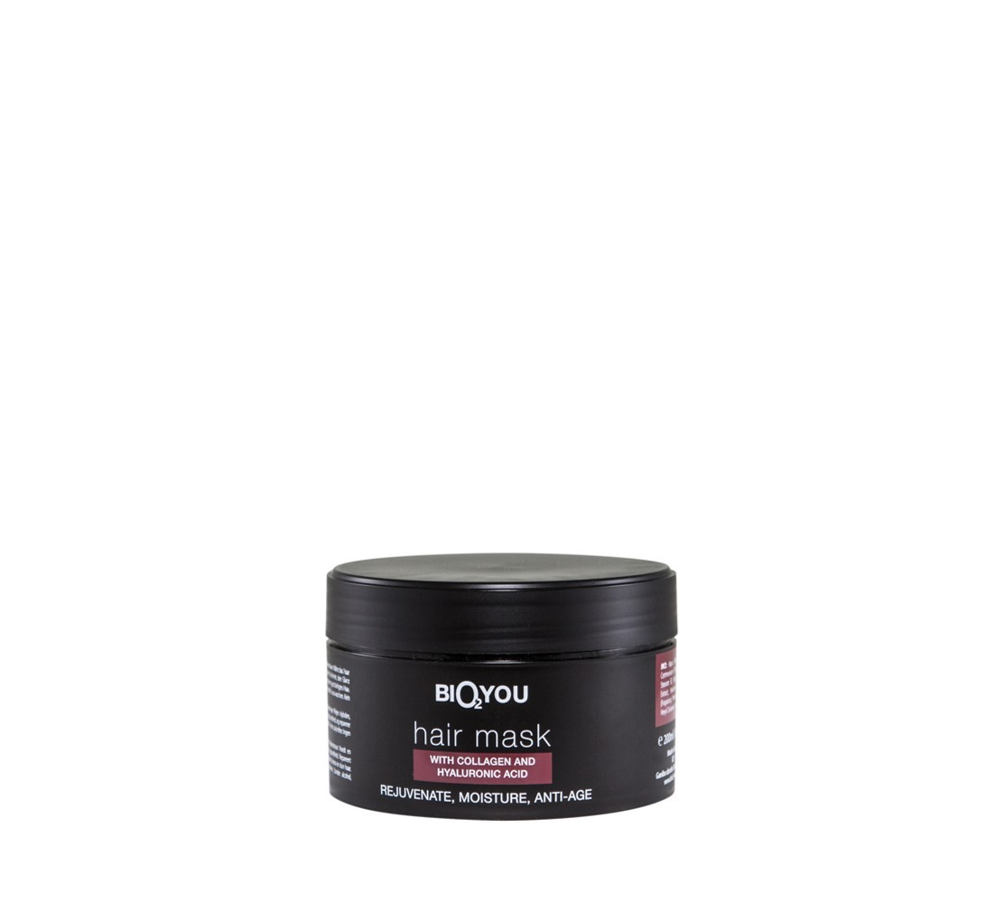 Bio2You Natural hair mask with Colagen and Hyaluronic acid